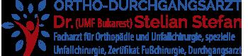 Ortho-Durchgangsarzt – Dr. med. Stelian Stefan